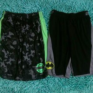 Turtles and Batman Shorts